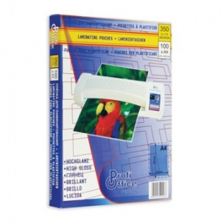 Пленка для ламинирования ProfiOffice А4, 175мкм 100шт/уп.