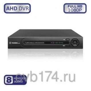 8-канальный AHD видеорегистратор MATRIX M-8AHD1080P Prime