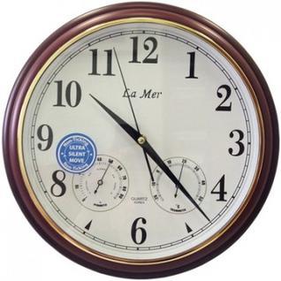 Часы настенные LA MER 32см плас с терм и гигр GD115020