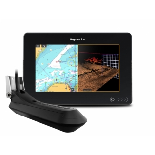 "Raymarine AXIOM 7 RV, Multi-function 7"" Display with RealVision 3D, 600W Sonar with RV-100 transducer Raymarine"