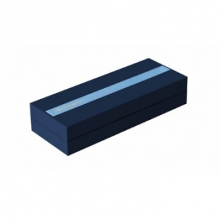 Ручка шариковая WATERMAN HEMISPHERE S0920370 сталь с позол лин сред чер син
