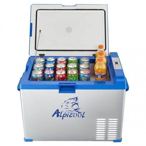 Kомпрессорный автохолодильник ALPICOOL A40 синий (40л, 12/24/220В) 36995013 3