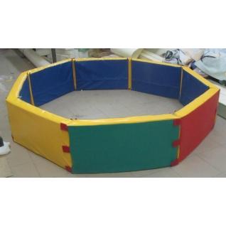 Сухой бассейн восьмиугольный