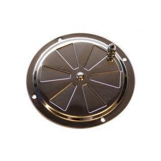 Maritim Решетка вентиляционная регулируемая из нержавеющей стали 41445 102 мм