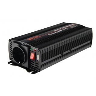Преобразователь инверторный а/м WESTER MSW600  12-220В+USB; 600Вт ...