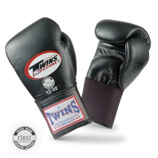 Twins Special Боксерские перчатки Twins BGEL-1, 16 унций, Черный