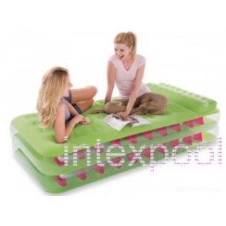 Односпальная надувная кровать Take Along Bed INTEX 67716