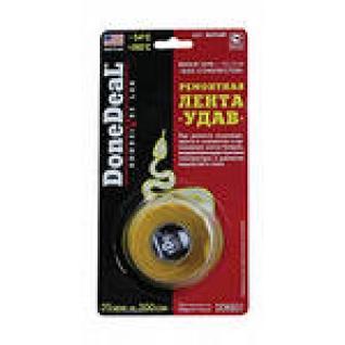 Лента-бандаж DoneDeal 6832/6826 2,5х100см черная Ремонтная лента УДАВ