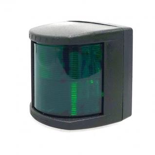 Огонь бортовой Lalizas Classic 20 зелёный, черный пластик (30501)