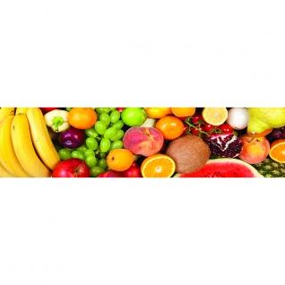 Фартук для кухни Свежие фрукты 600х2440мм