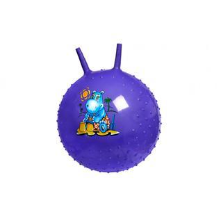Мяч детский массажный (Фиолетовый) BRADEX