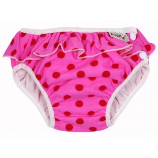 Трусики для купания (плавки) ImseVimse pink dots frill