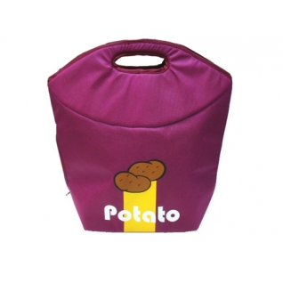 Хранение продуктов, овощей. Мешочки для овощей. Обработка продуктов. Potter Ind. Ltd. Сумка для хранения картофеля Potato Bag (бордовая) NW-KC035
