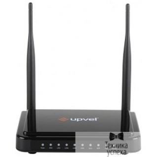 Upvel UPVEL UR-337N4G 3G/LTE Ethernet Wi-Fi роутер стандарта 802.11n 300 Мбит/с c USB-портом с поддержкой 3G/LTE backup, Samba, FTP, Torrent, Print-Server, MultiWAN, 16/64 MB памяти и двумя антеннами 5 дБи