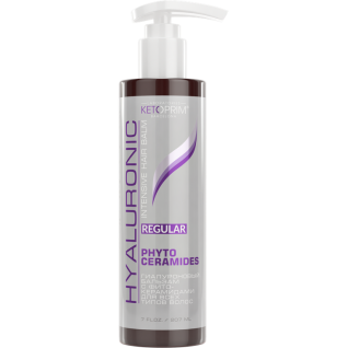 Гиалуроновый бальзам KETOPRIM Regular с Фито - Керамидами для всех типов волос
