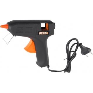 Пистолет термоклеящий электрический, DEXX 40Вт/220В, 11мм