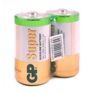 Батарейки GP Super экон.уп.D/LR20/13A алкалин.2шт/уп GP13AEBRA-252