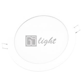 GSlight Светодиодная панель R12-W-WW Круг
