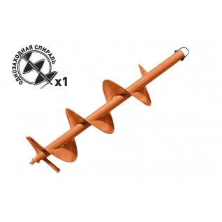 Carver GDB-200 однозаходный (d пос=20мм, D=200мм, L=80см), Шнек для грунта