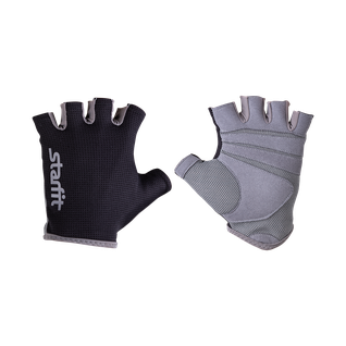 Перчатки для фитнеса Starfit Su-127, черный/серый размер L