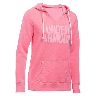 Пуловер женский Under Armour Pullover Favorite Fleece pink