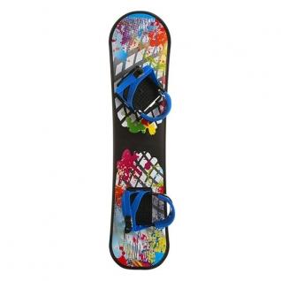 Пластиковый сноуборд с креплениями
