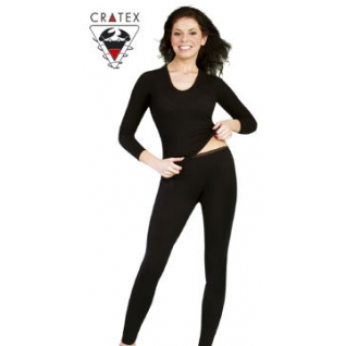 Термобелье шерстяное с шелком, женские брюки (Размер M бежевые)