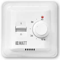 IQWATT IQ THERMOSTAT M – Механический терморегулятор (белый)