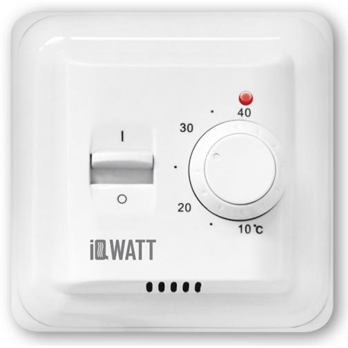 IQWATT IQ THERMOSTAT M – Механический терморегулятор (белый) 6763743