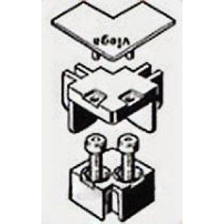 Набор комплектующих Viega Advantix 711757 угловой глянцевый
