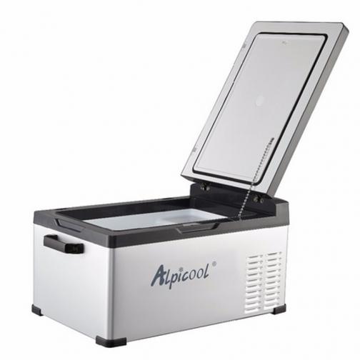 Kомпрессорный автохолодильник ALPICOOL C25 черный (30л, 12/24/220В) 36995006 2