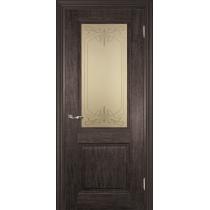 Дверное полотно Profilo Porte PSC- 27, 29 Цвет Орех седой мраморный, Палисандр мраморный, Вишня мраморная, Орех мраморный, Стекло