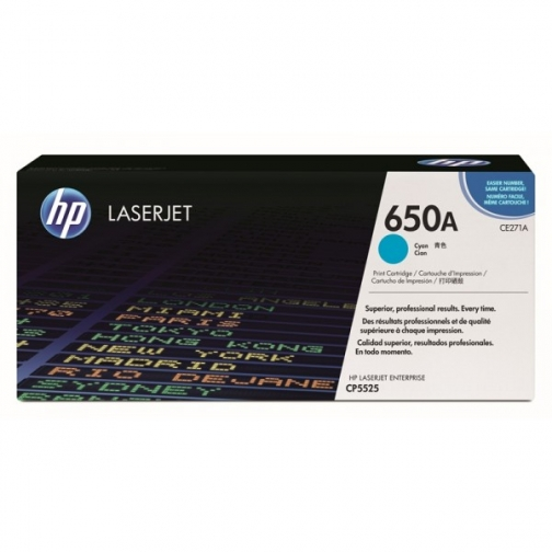 Оригинальный картридж HP CE271A для HP Сolor LJ СP5525, голубой, 15000 стр. 856-01 Hewlett-Packard 852452 1