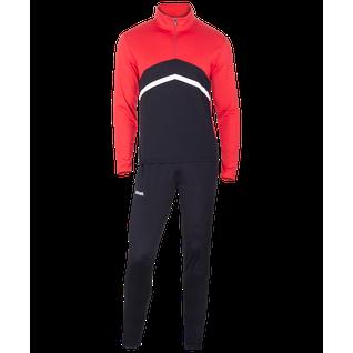 Костюм тренировочный Jögel Jps-4301-621, полиэстер, черный/красный/белый размер L