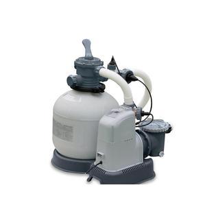 Intex Хлоргенератор+песочный фильтр-насос Intex 28680, 10000 л/ч