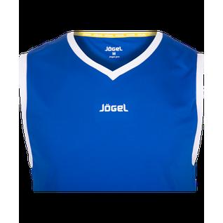 Майка баскетбольная Jögel Jbt-1020-071, синий/белый, детская размер YXS