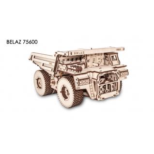 Сборные модели EWA Деревянный конструктор 3D Belaz 75600 (Белаз 75600)