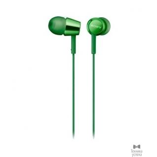 Sony Sony MDREX155G.E(GQ) вкладыши , цвет зеленый