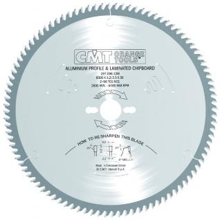 Диск пильный по металлу и ламинированным панелям СМТ 297.096.12M