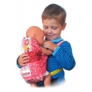 """Игрушка - Рюкзачок - """"Кенгуру"""" для куклы ик.0001 Спортбэби"""