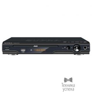 Supra Плеер DVD Supra DVS-011X черный Караоке ПДУ