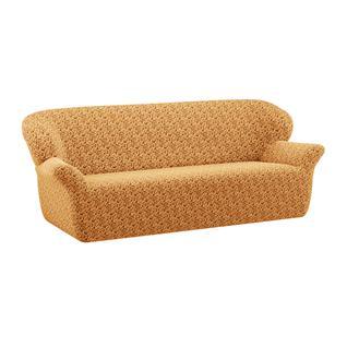 Чехол для трехместного дивана ПМ: Ми Текстиль Чехол на трехместный диван жаккард без юбки