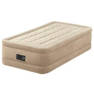 """Кровать-матр.""""twin Ultra Plush Airbed With Fiber-tech Bip"""",эл/н220v,191х99х46 INTEX"""