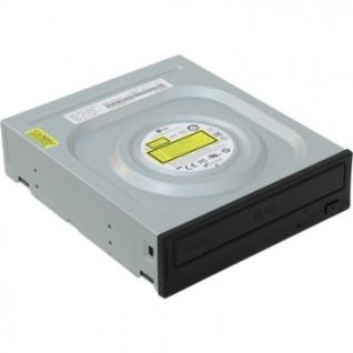 Привод DVD+RW LG (HLDS) GH24NSD1 Black <SATA, OEM>(GH24NSD1)