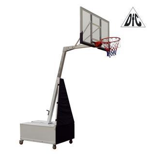 DFC Баскетбольная мобильная стойка DFC STAND56SG 143x80CM поликарбонат (3кор)
