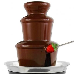 Шоколадный фонтан фондю Chocolate Fondue Fountain No name
