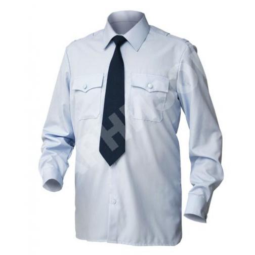 Рубашка  Полиция Д/Р белая 15029