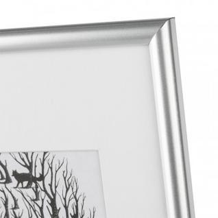 Рамка с паспарту, пластик, 21х30, серебр. цвет 516П