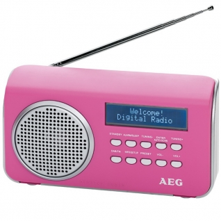 AEG DAB 4130 pink