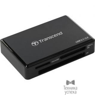Transcend USB 3.0 Multi-Card Reader F9 All in 1 Transcend TS-RDF9K Black